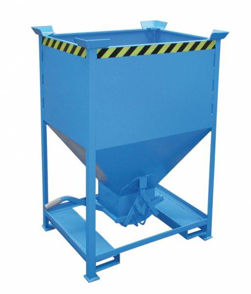 Silo containers - Silo containers for the controlled discharge of solids