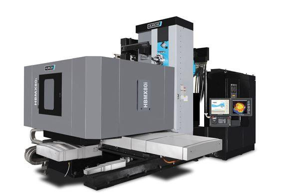Horizontal-4-Axis-Machining-Center - HBMX 80i - Power and unbeatavle value - the ideal machine for medium sized 4-axis parts