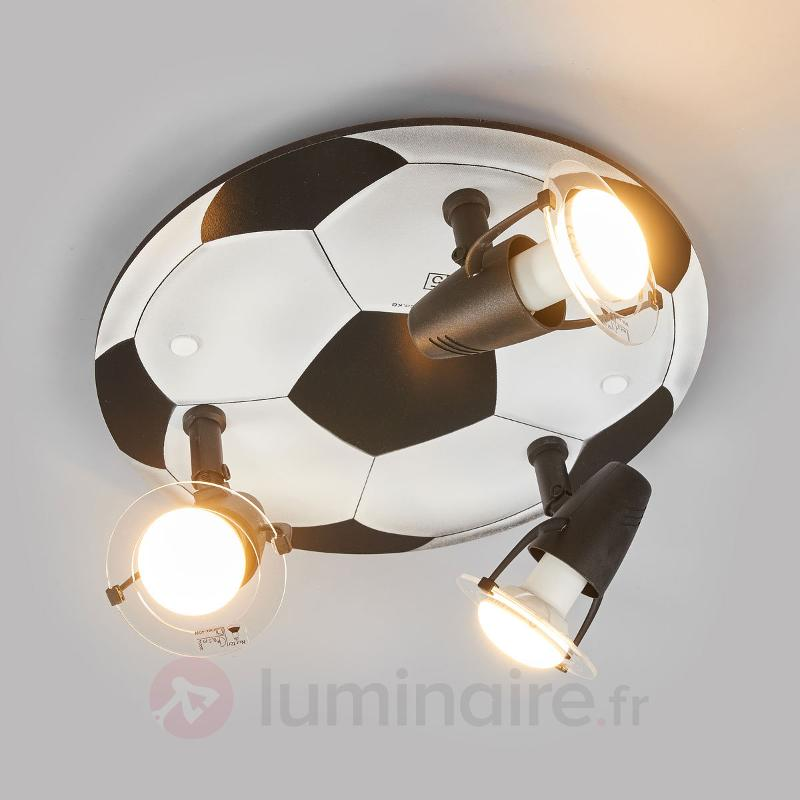 Plafonnier Football 3 lampes
