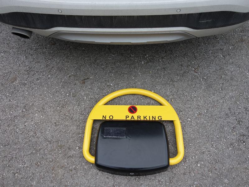 Automatische Solar-Parkplatzsperre Street-Guard Park Secur - null