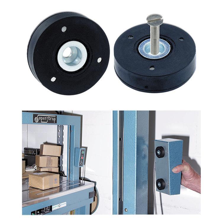 Rundum gummierte Magnetsysteme -