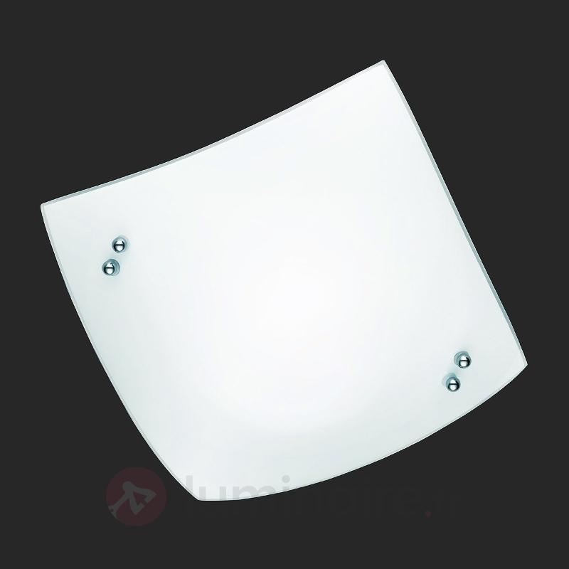 Plafonnier légèrement courbé STOLE - Plafonniers en verre
