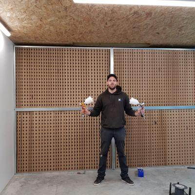 Mur Aspirant Livré En Kit - Kit de montage pour mur aspirant / cabine de peinture/vernis