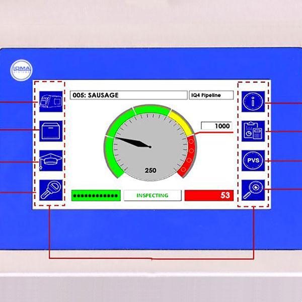 Sistema Metal Detector Loma Iq4 - null