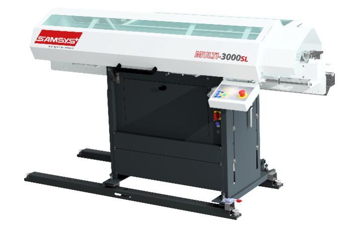 Bar Feeders for Machine Tools - Multi 3000 SL