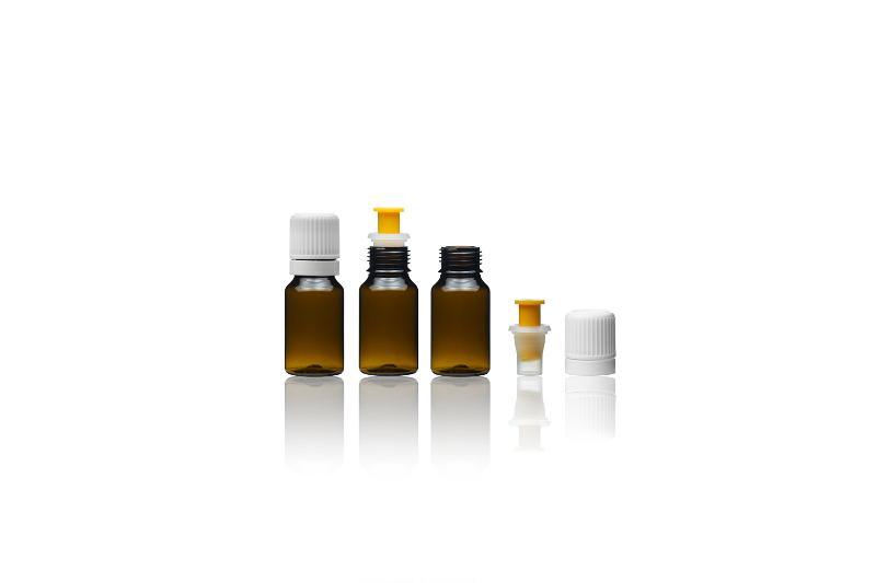 Bottiglie di vetro con tappo serbatoio - FLACONCINI CON TAPPO SERBATOIO
