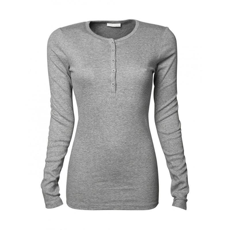 Tee-shirt ajusté femme - Manches longues