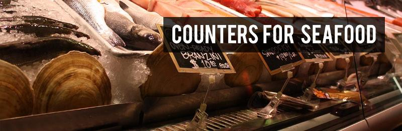 Shop fittings - Counters for seafood