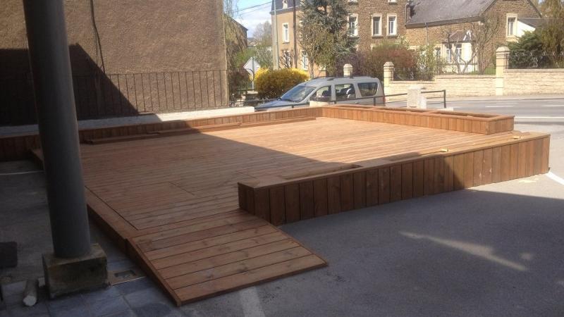 Terrases en bois - Fixation invisible