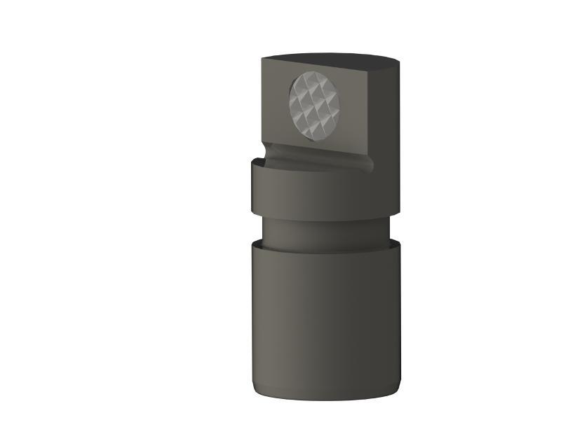 Spannbacke Flex mit Hartmetall-Gripper - null