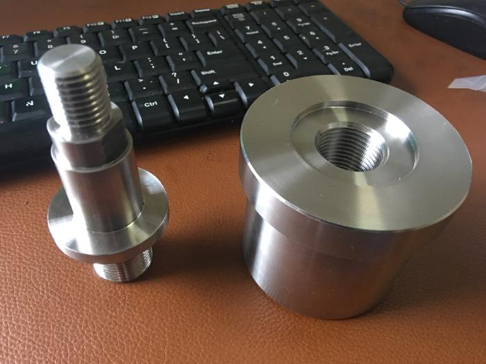 Assembly Of Stainless Steel Turned parts - Quality Stainless Steel Assembly Parts Custom Machined From China Ming Xiao Mfg