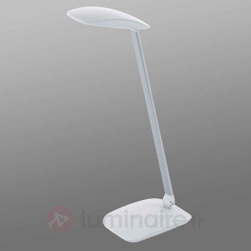 Lampe de bureau LED Cajero à variateur tactile - Lampes de bureau LED