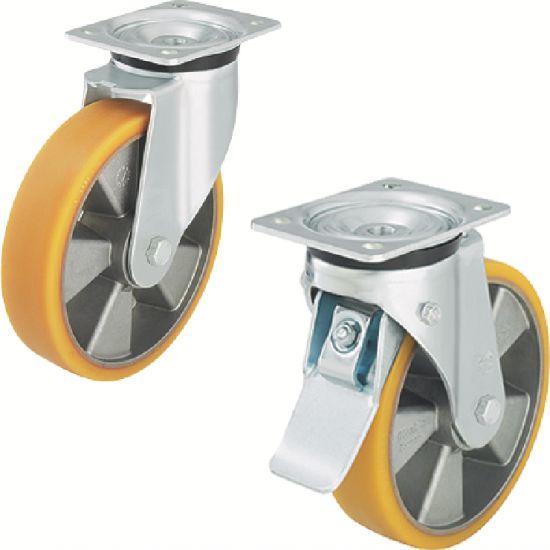 Roulette forte charge - pivotante ou fixe, à platine