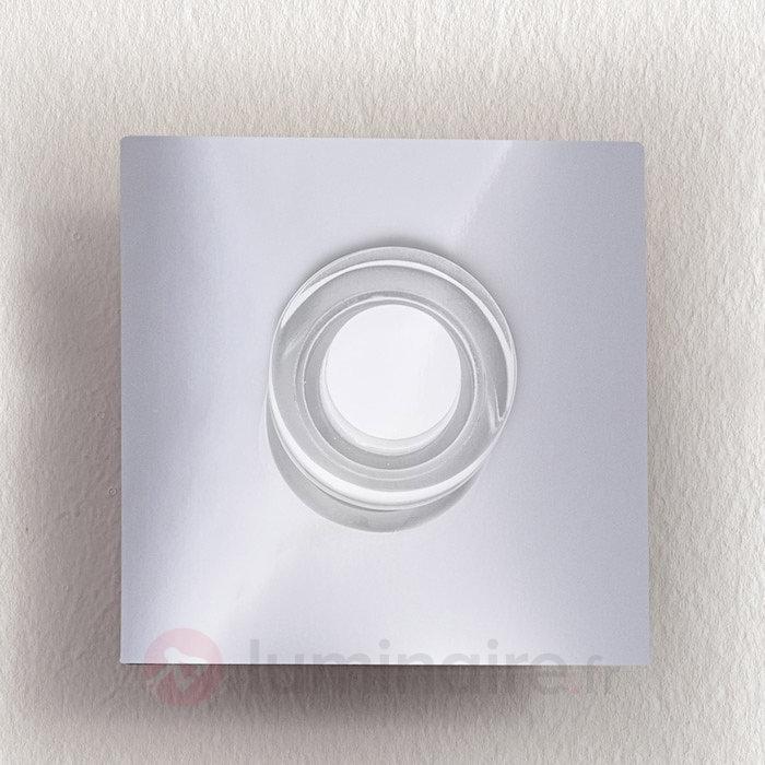Applique LED Gilian à une lampe - Appliques chromées/nickel/inox