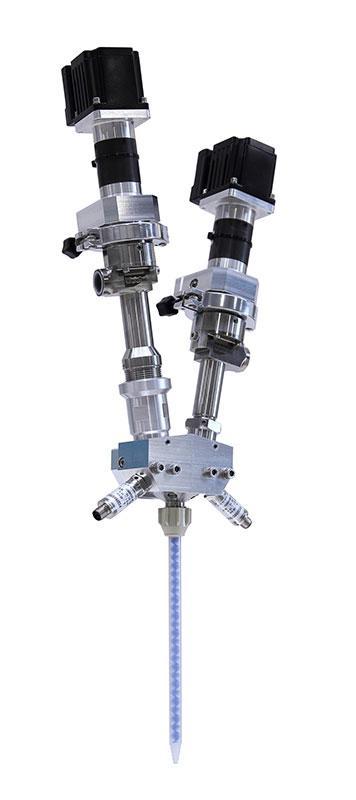2-component dosing system ViscoDuo-VM - Valveless, static dosing system / two-component application
