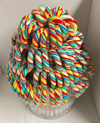 Hand made lollipop candy canes candy cane umbrella -
