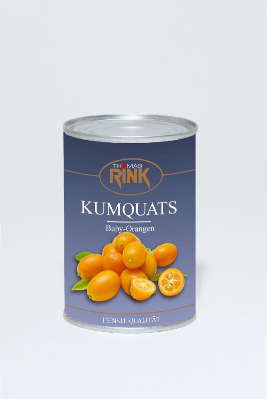 Kumquats, 425 ml, leicht gezuckert - null