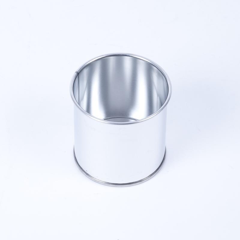Eindrückdeckeldose 250ml, mit Außenrollung