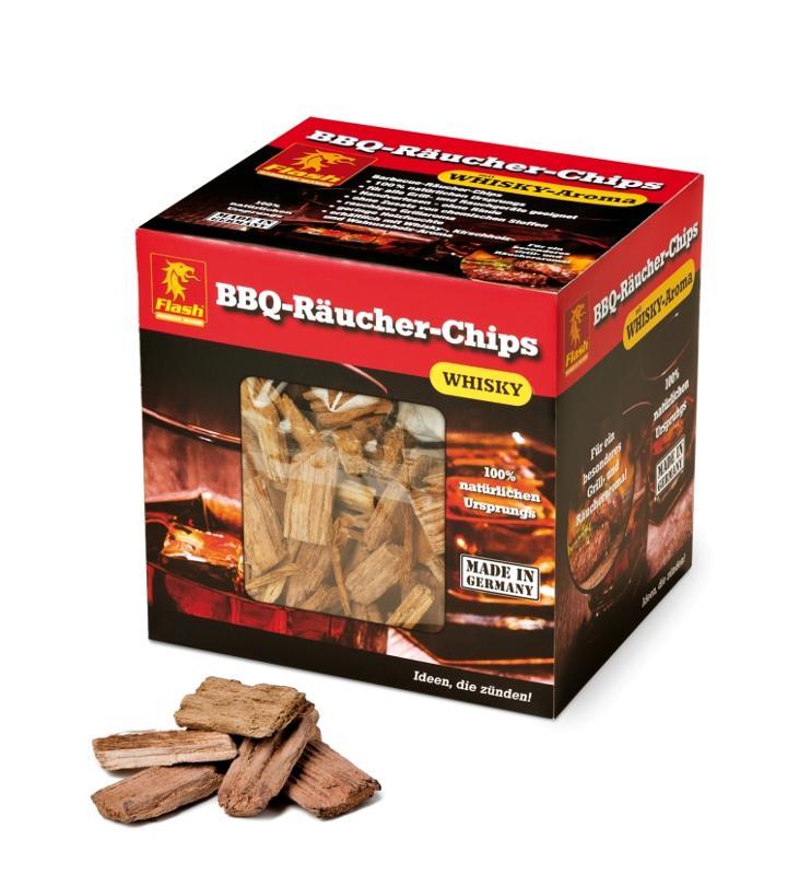 FLASH Räucher-Chips Whiskey 700 g - null