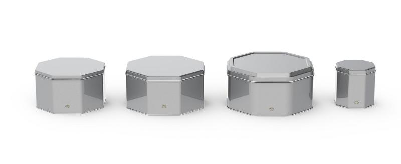 Specialty Packaging - Octagonal Tins