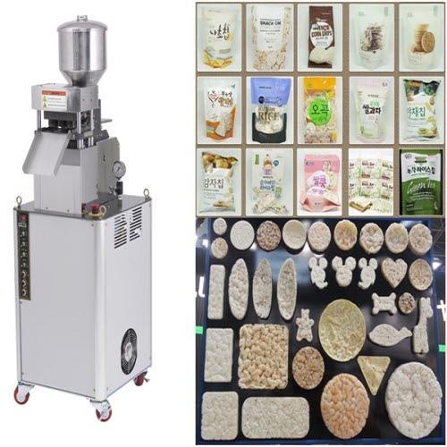Máquina de galletas de arroz(maíz) - Tortitas de arroz máquina