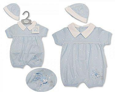 Baby Boys Romper with Hat - Little Star -