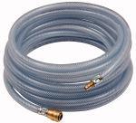 PVC braided hose set, Hose 20x13, Length 10 m - PVC compressed air hose set