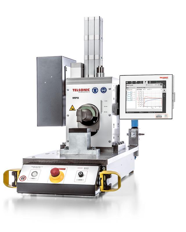 MPX Ultrasonics Linear Metal Welding Press - Metal welding press for universal applications