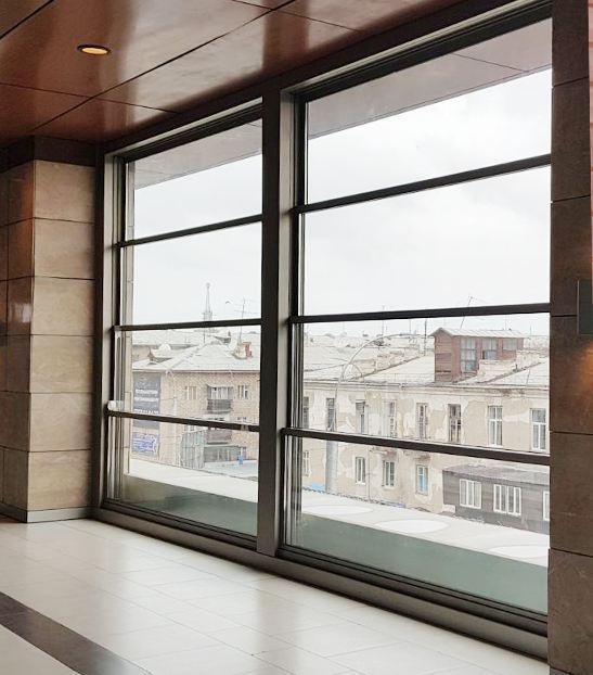 Aluminium Sash window system - Guillotine window system