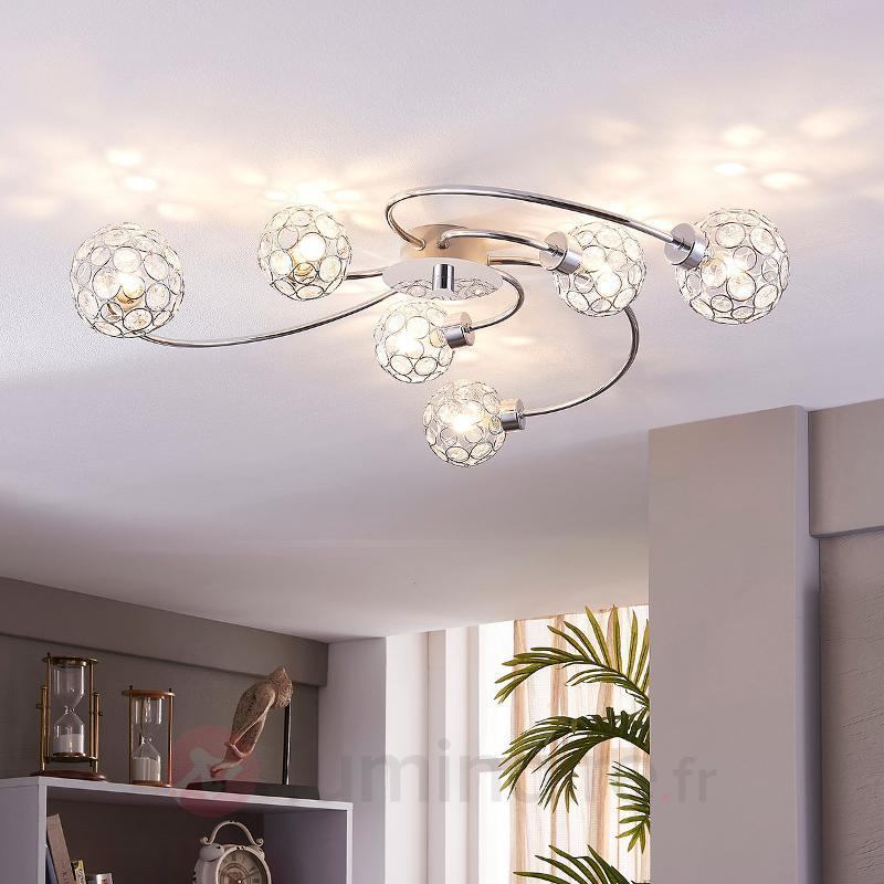 Plafonnier LED décoratif Tyron - Plafonniers LED