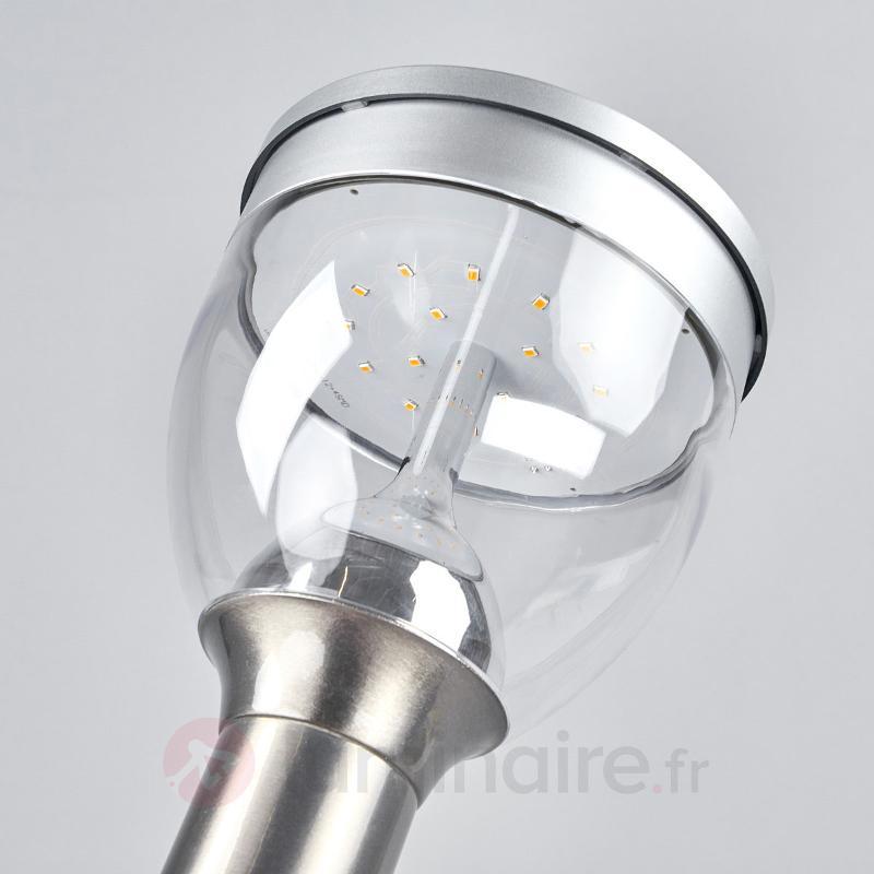 Éclairage pr chemin LED Eda à technologie solaire - Lampes solaires avec détecteur
