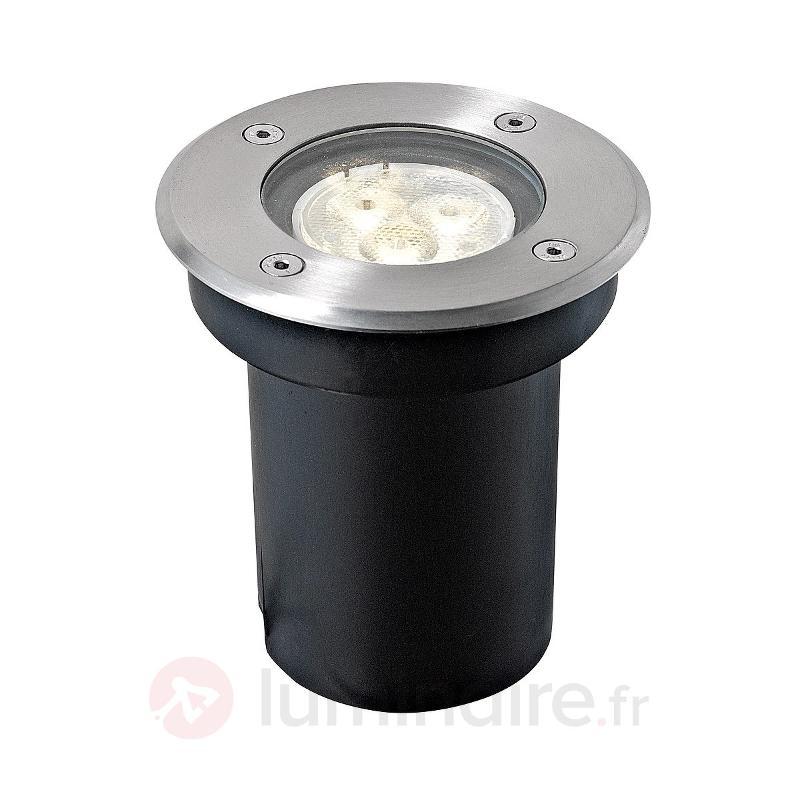 IP67 - Spot LED encastrable dans le sol Ava, rond - Luminaires LED encastrés au sol
