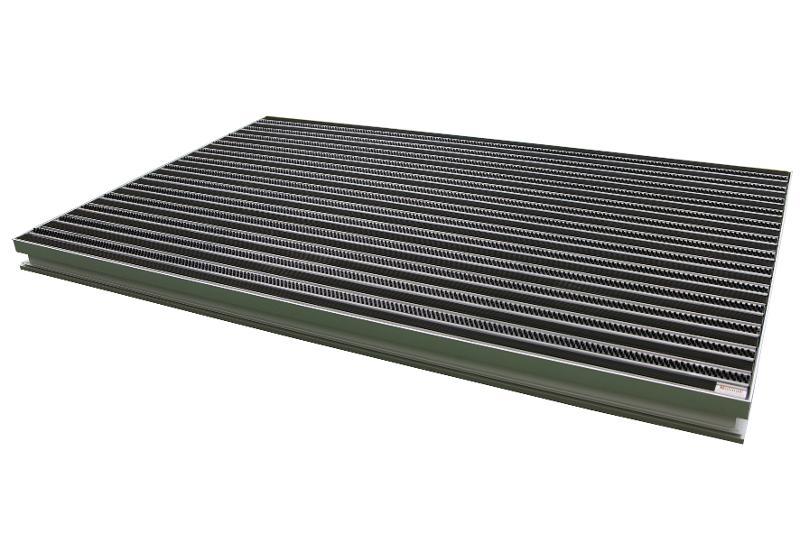 Osadnik aluminiowy Unimat TrapSystem80 - Kompletne systemy osadników z odwodnieniemOsadniki aluminiowe na dowolny wymiar