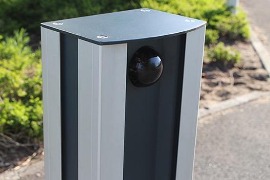 Mât de vidéo surveillance - Colonne multi-fonctionnelle pour le montage de caméra