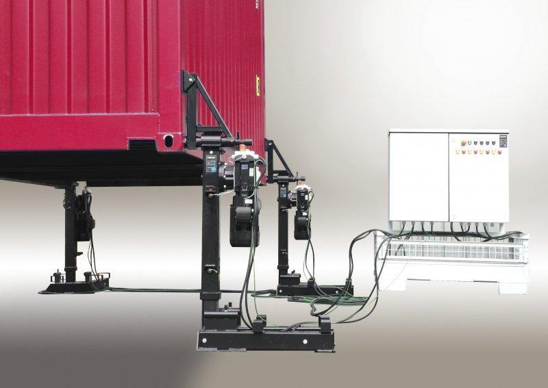 Support de conteneur 32 t - Support de conteneur 32t pour des véhicules à suspension pneumatique & mécanique
