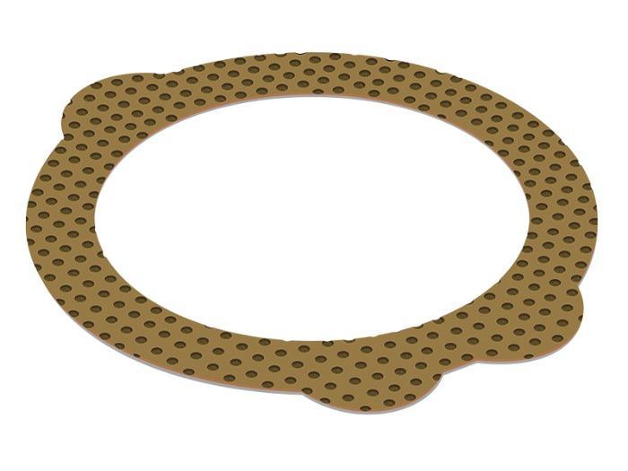 DX10 - Palier Lisse - Palier Lisse Métal-Polymère Lubrifié pour Fortes Charges