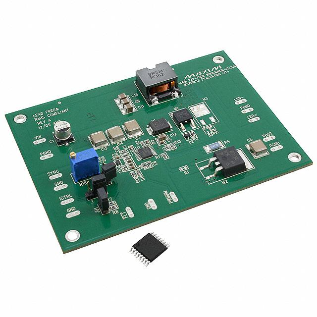 KIT EVAL FOR MAX16833 LED DRIVER - Maxim Integrated MAX16833EVKIT+