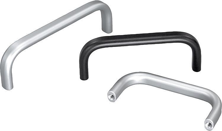 Pull Handles aluminum - K0202