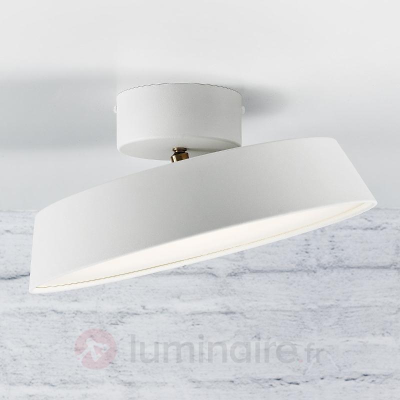 Plafonnier LED Alba blanc ajustable - Plafonniers LED
