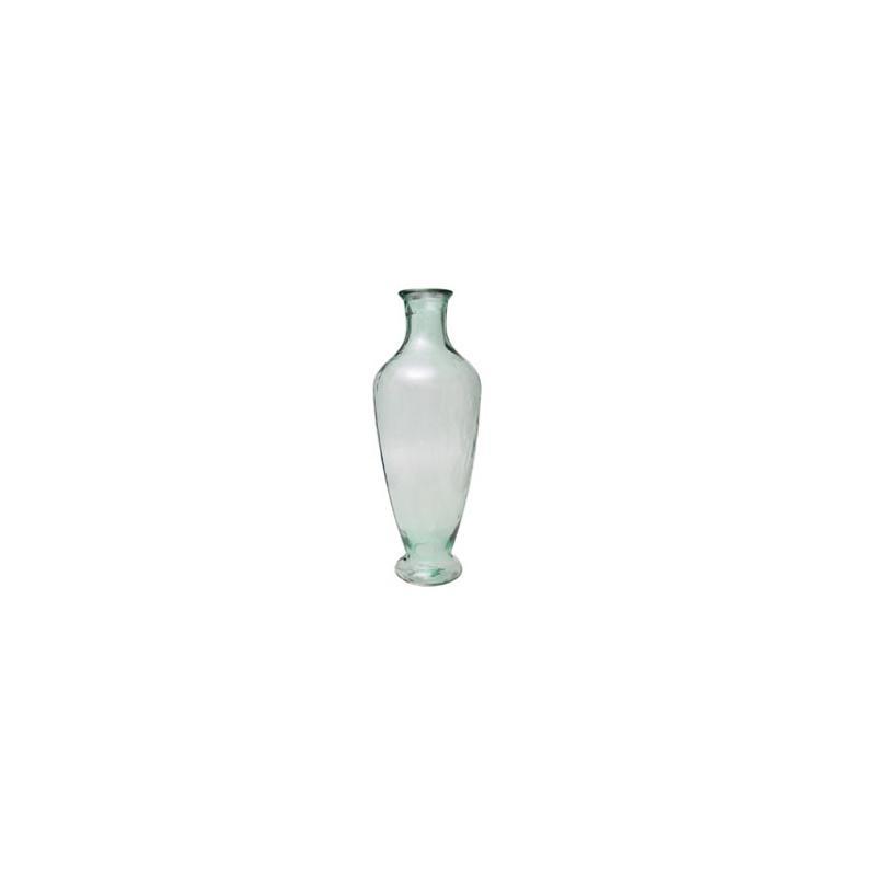 Grand vase en verre 100% recyclé Jarron GRIEGO, hauteur 75 cm - Vases, Lanternes, décoration