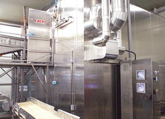 surgélateur IQF freeze equipment - surgélateur IQF pour tout produit alimentaire