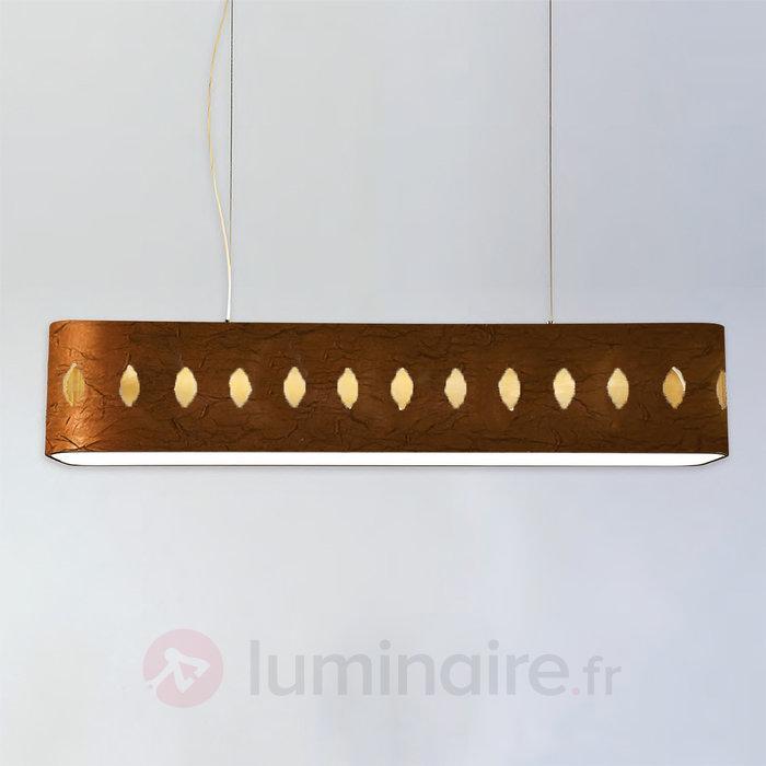 Magnifique suspension tissu Lavina 160 cm - Cuisine et salle à manger