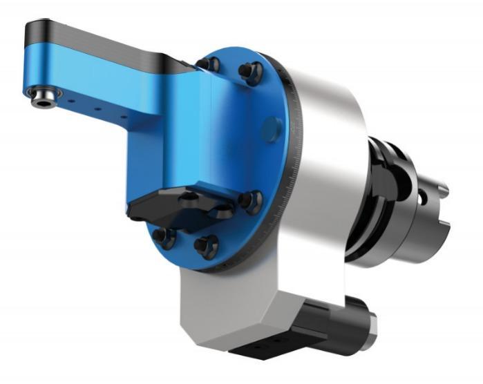Extra schmaler Winkelkopf SLIM WGX-S - CNC Aggregat / Winkelkopf zur Bearbeitung von Metall