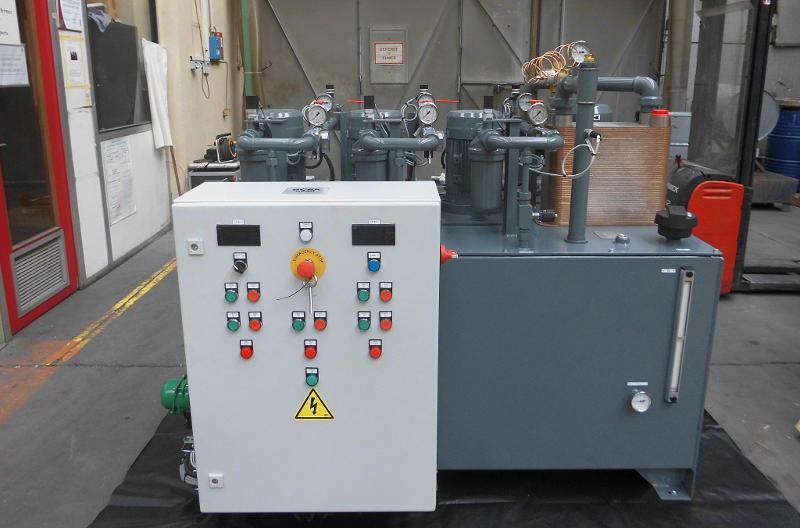 Centrales de lubrification - Aéronautique : Centrale haute capacité