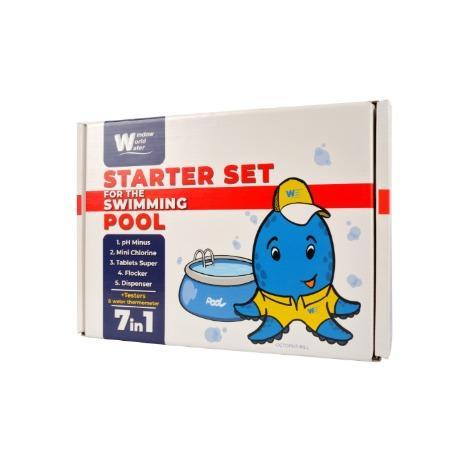Starter kit for Swimming Pool - Starter kit for Swimming Pool up to 30m3