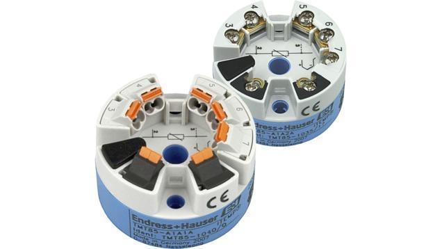 Temperature mesure Thermometres Transmetteurs - transmetteur temperature universel Profibus