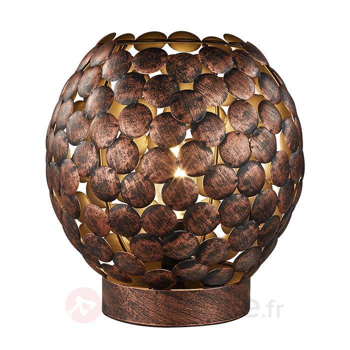 Lampe à poser artistique Frieda - Lampes à poser rustiques