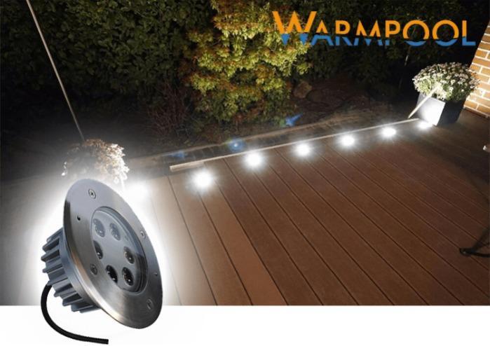 Luces subterráneas LED -