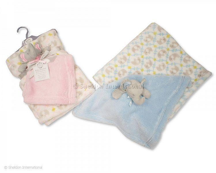 Baby Blanket with Comforter - Blankets