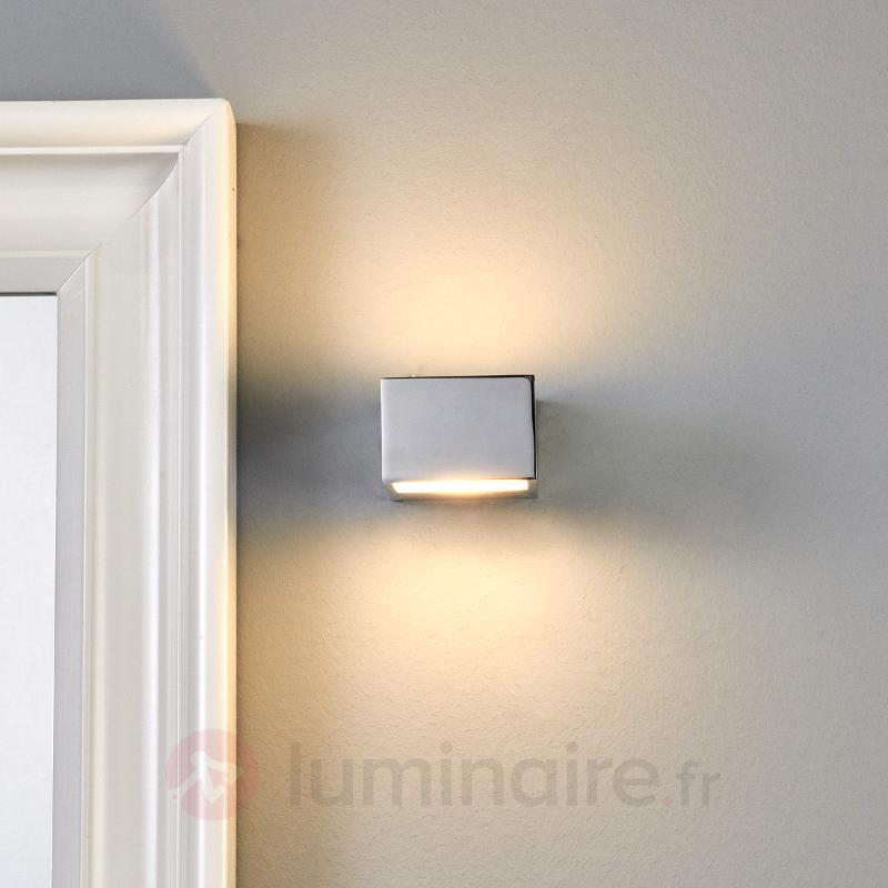 Applique LED de salle de bain rectangulaire Cosmin - Salle de bains et miroirs